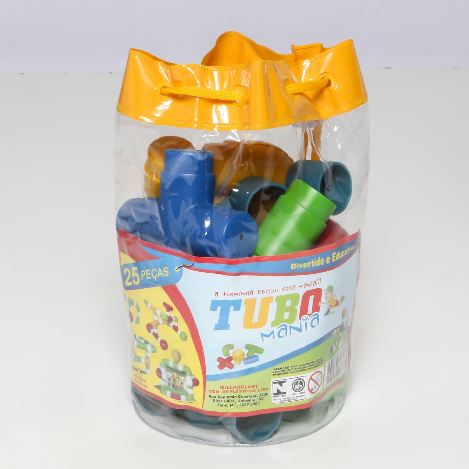 Tubo Mania 25 peças - Ref 030