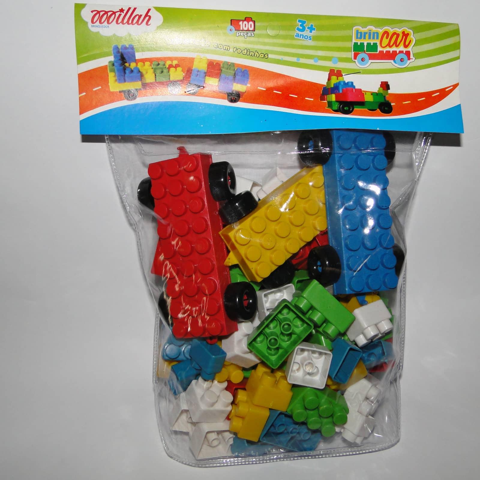 Brincar 100 peças - Ref 394
