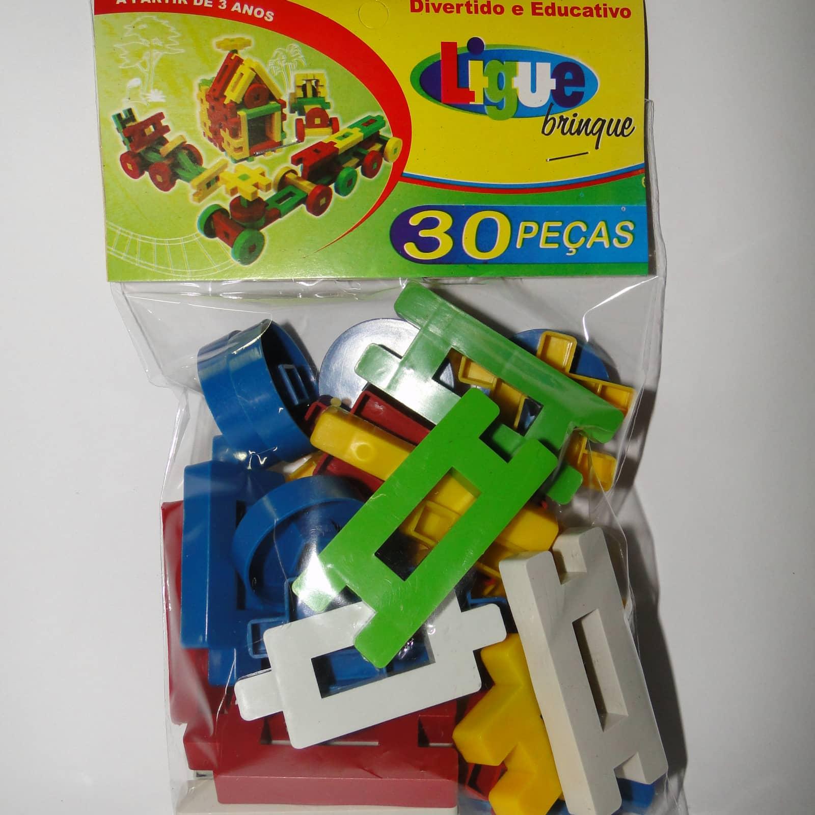 Ligue Brinque 30 peças - Ref 018