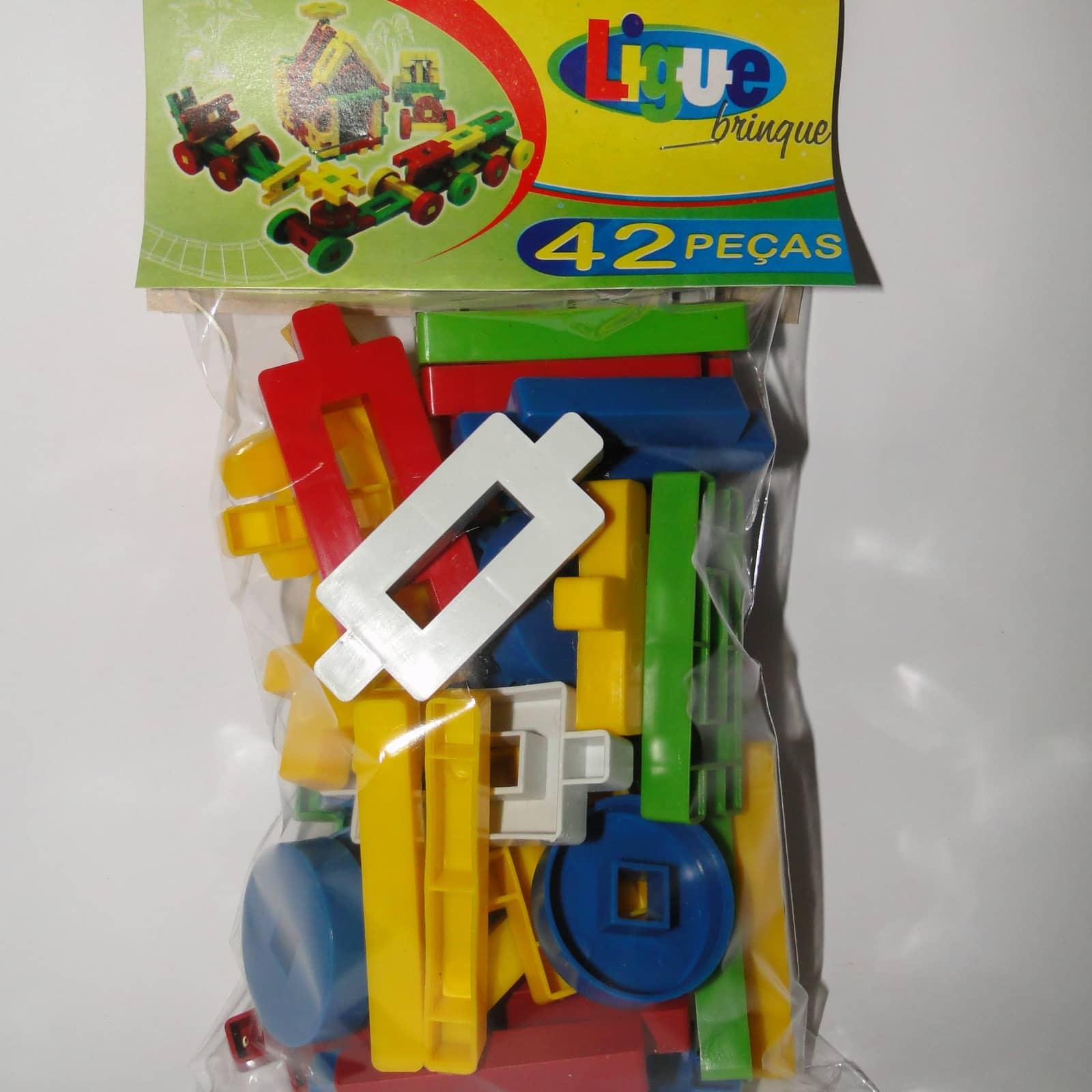 Ligue Brinque 42 peças - Ref 019
