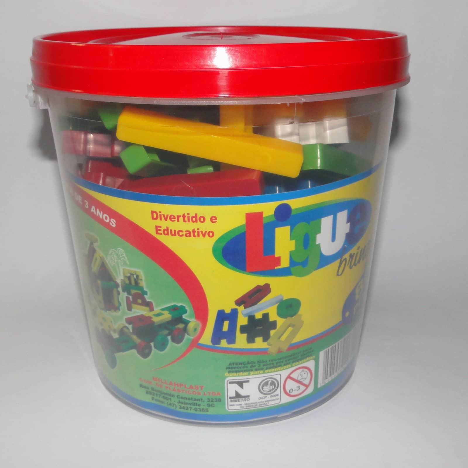 Ligue Brinque 80 peças - Ref 020
