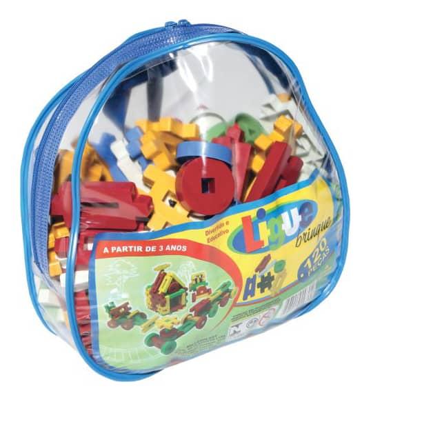 Ligue Brinque 120 peças - Ref 022